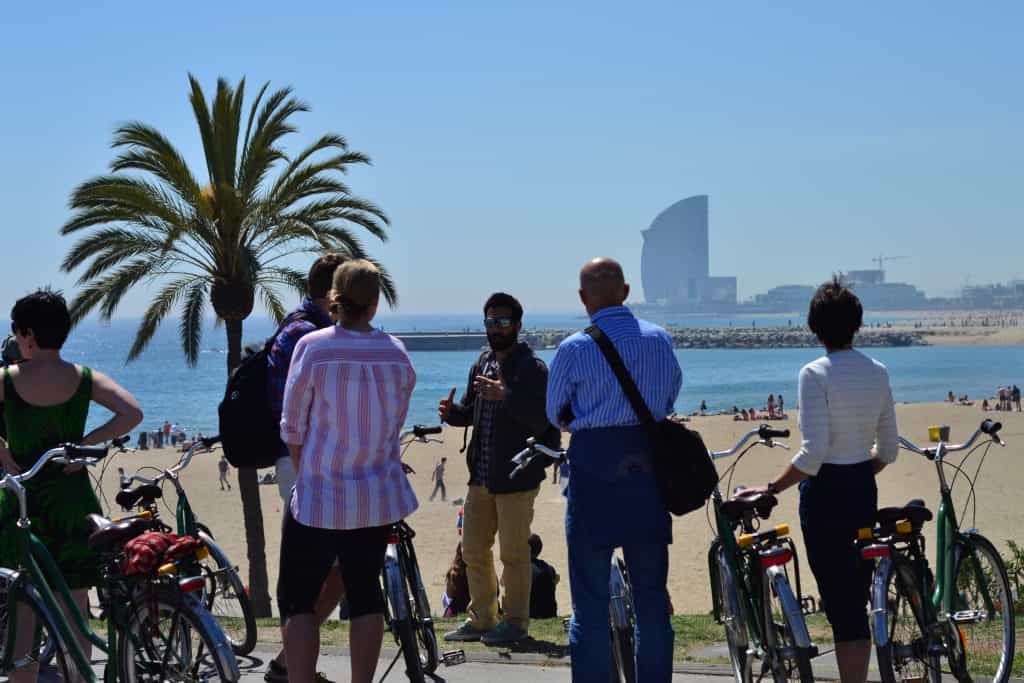 bike tour barcelona in september