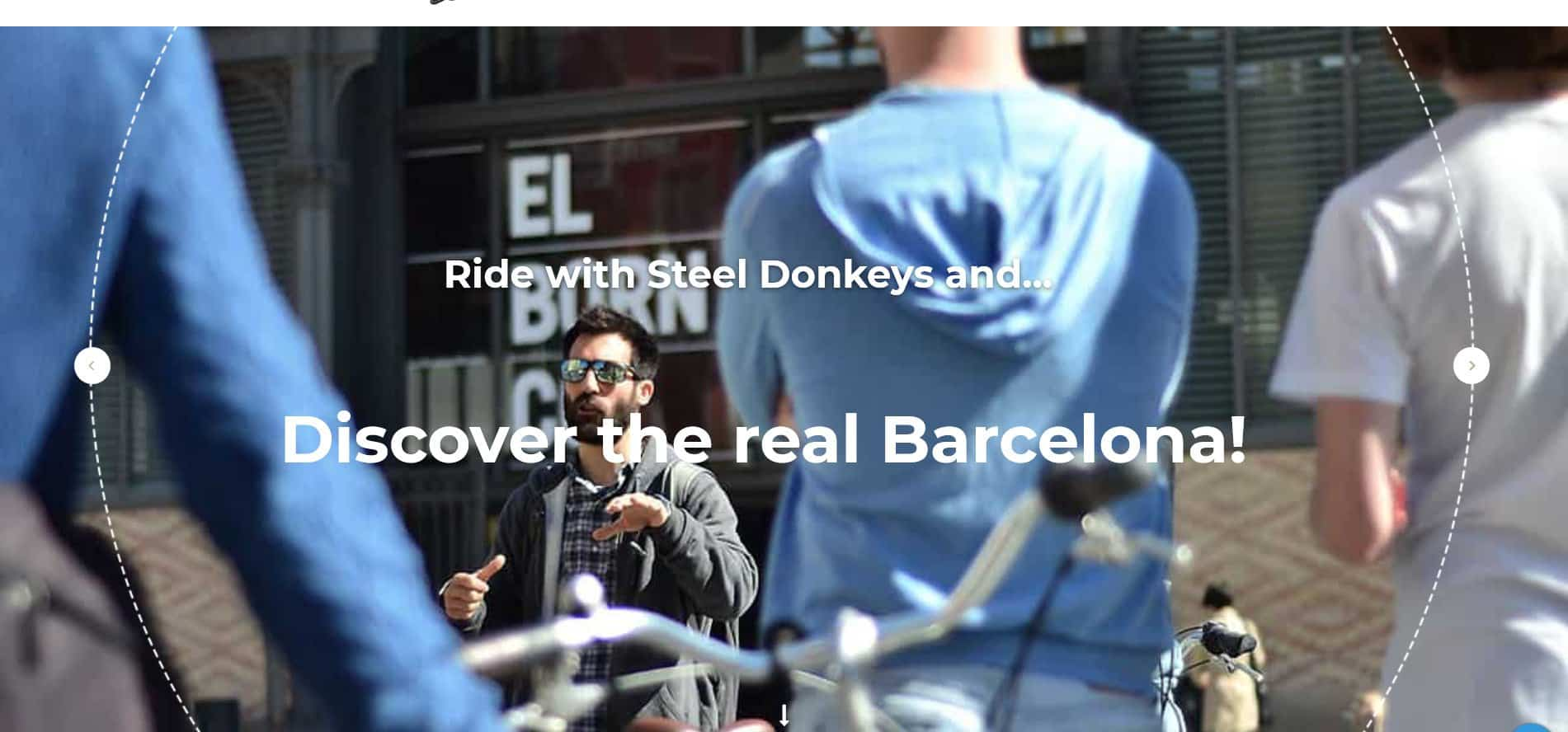 The LEGENDARY Steel Donkey Bike Tour Barcelona no 1 ride