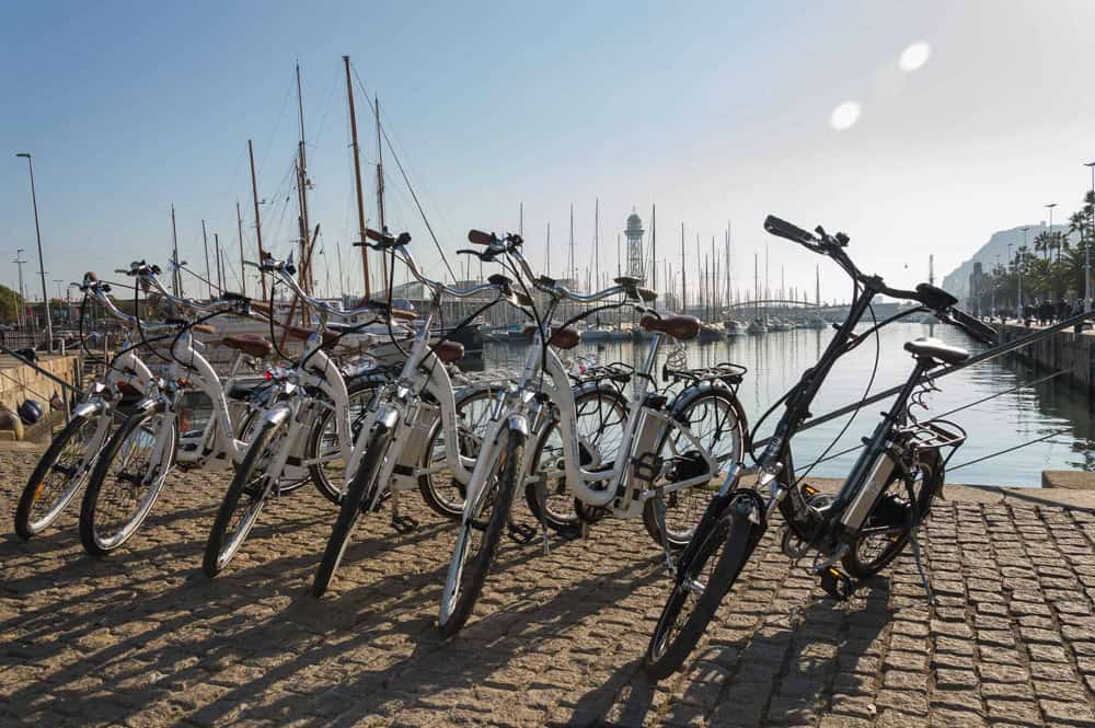barcelona e-bike tour spain