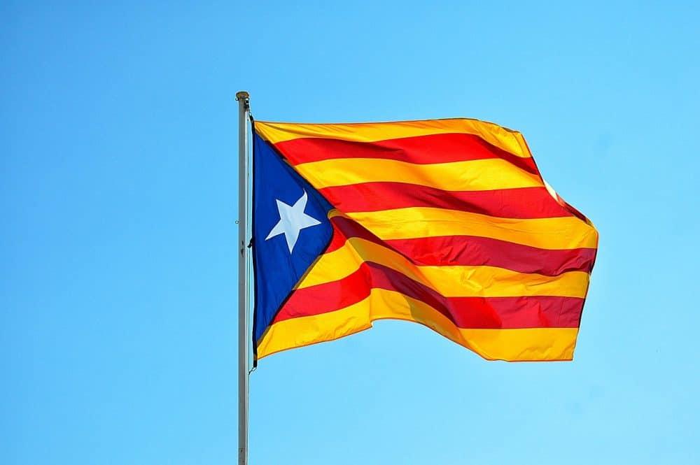 catalunya flag barcelona