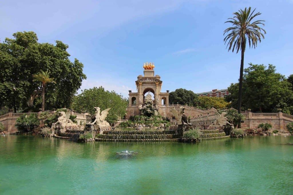 parc ciutadella barcelona september